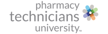 Pharmacy Technicians University logo